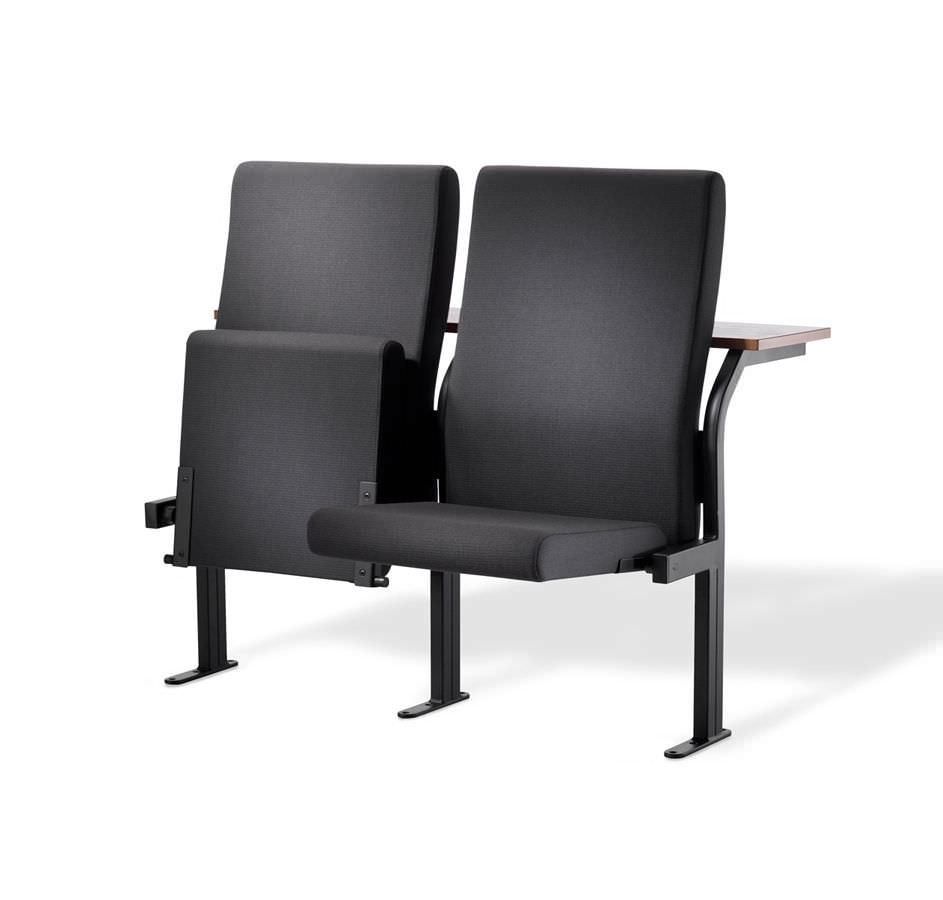 Auditorium stoel zwart