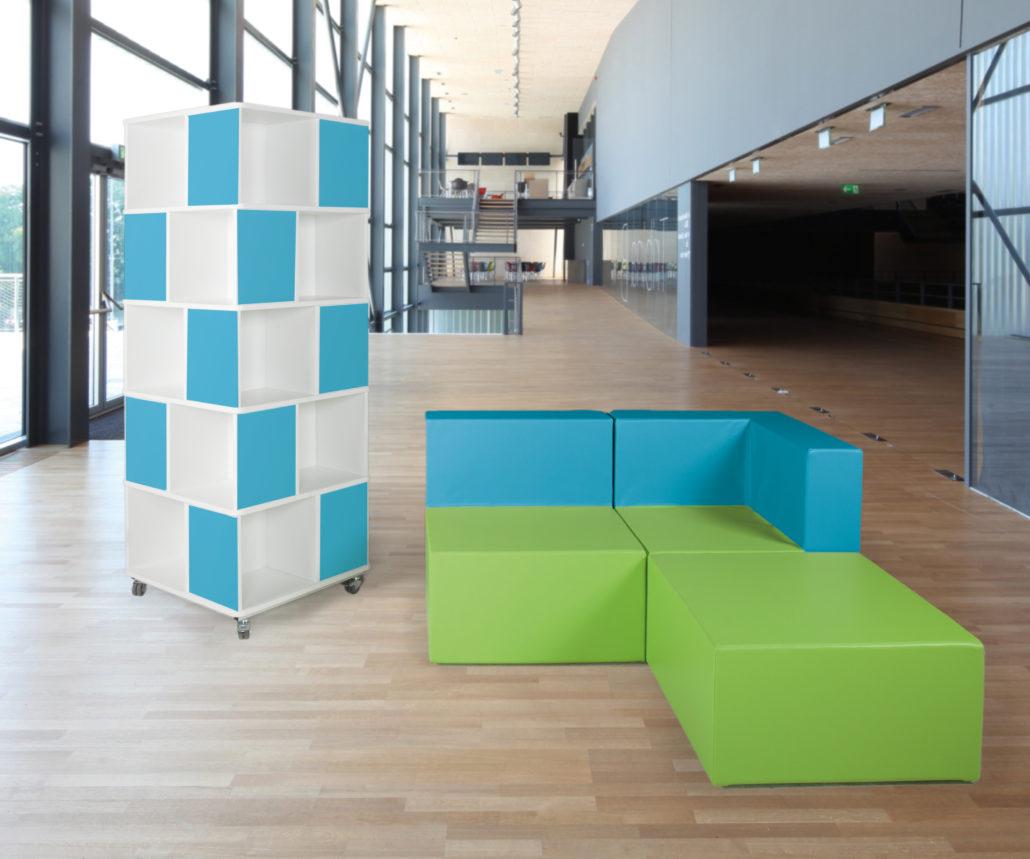 Kast kubistisch modern