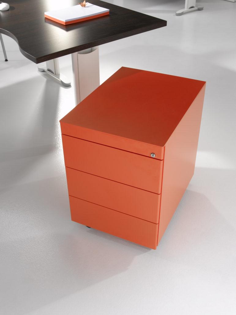 Ladeblok in oranje