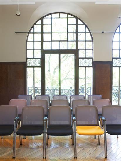 Seminarie stoel metaal