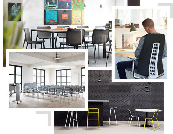 Stoelen en bureaustoelen