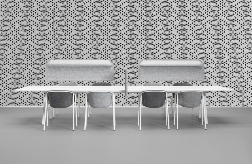 Vergader stoel modern